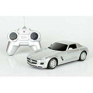 星辉遥控车模 1:24 奔驰sls amg 跑车 遥控车汽车模型玩具高清图片