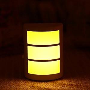 护眼灯 创意 感应灯 节能 插电 床头灯 光控 声控 led 小夜灯 壁灯图片