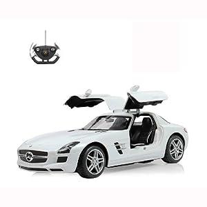 星辉车模 1:14奔驰sls amg 欧翼门 大奔遥控汽车 跑车车模高清图片