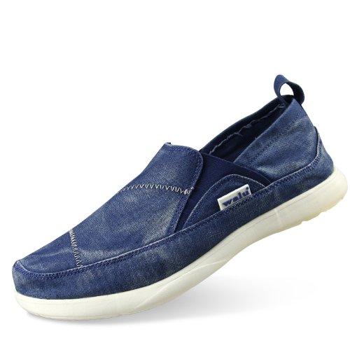 WALU 沃尔卢 低帮帆布鞋 懒人鞋 套脚鞋 男士休闲鞋W307