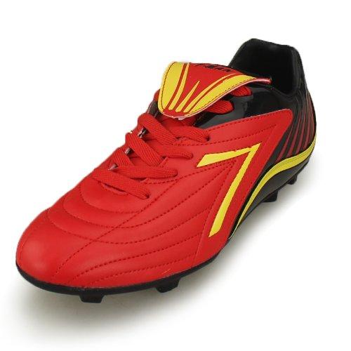 DOUBLE STAR 双星 男款皮足比赛鞋足球训练-653050足球专业训练鞋