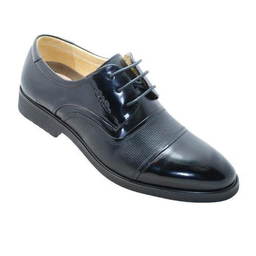 12年新款★金利来男鞋/男式春季新款皮鞋*190003 黑色