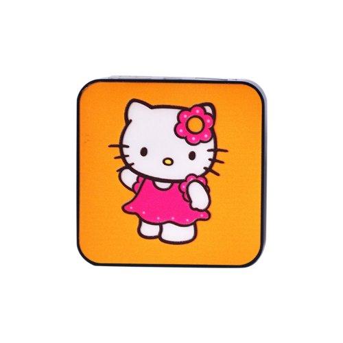 香港QH泉浩7800mAH 多功能 移动电源7800 充电宝 (适用于所有USB接口的IPHONE4 IPHONE4S IPHONE5 IPHONE5C IPHONE5S 三星 HTC 摩拖罗拉 诺基亚 小米 中兴 天语等各种智能手机 及 MP3 MP4 PDA PSP 数码相机 掌上游戏机 蓝牙设备) 7800 烤漆 悦动卡通 (kitty 猫)-图片