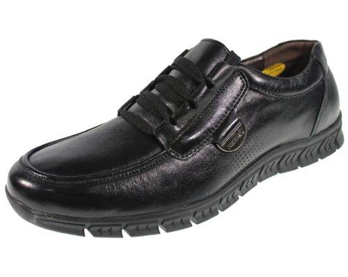 YEARCON 意尔康 日常休闲鞋真皮鞋男单鞋系带男鞋子 25AE57732A