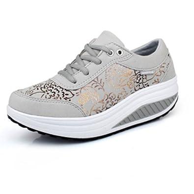鞋瘦腿摇摇鞋单鞋
