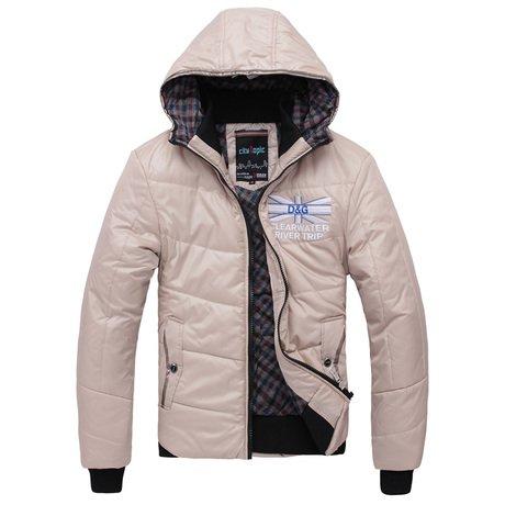 城市主题 新款男士外套 男装加厚修身款棉衣 保暖短款男棉衣11D938