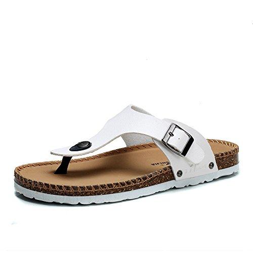 公牛世家 夏季拖鞋 人字拖 沙滩鞋 透气清凉鞋888163
