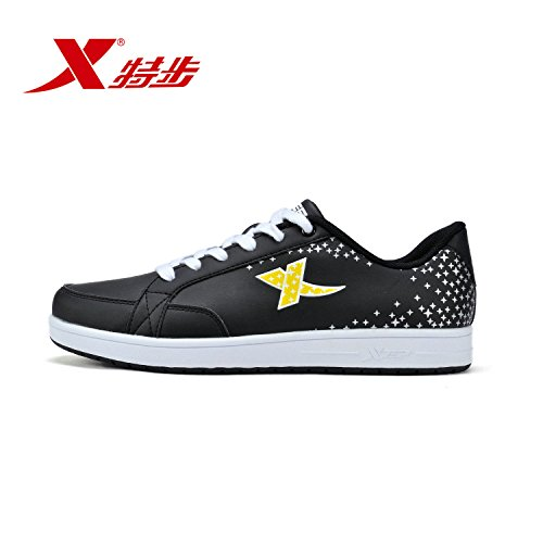 XTEP 特步 男鞋运动鞋轻便耐磨时尚男滑板鞋