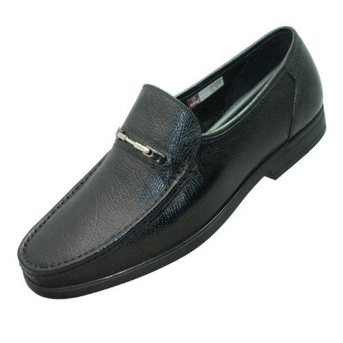 12年新款★金利来男鞋/男式秋季新款皮鞋*154143 黑色