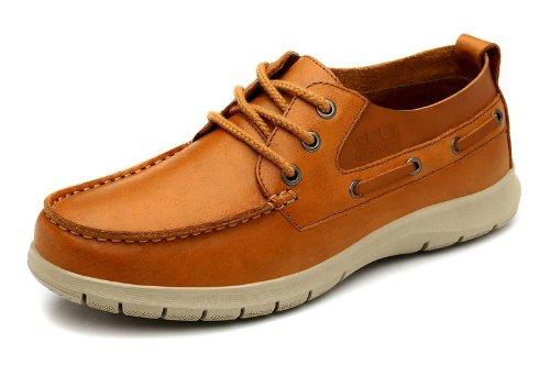Guci heaven 英伦风时尚型男最爱 流行男鞋 头层牛皮鞋 白领时尚 帆船鞋 休闲男皮鞋 商务休闲鞋