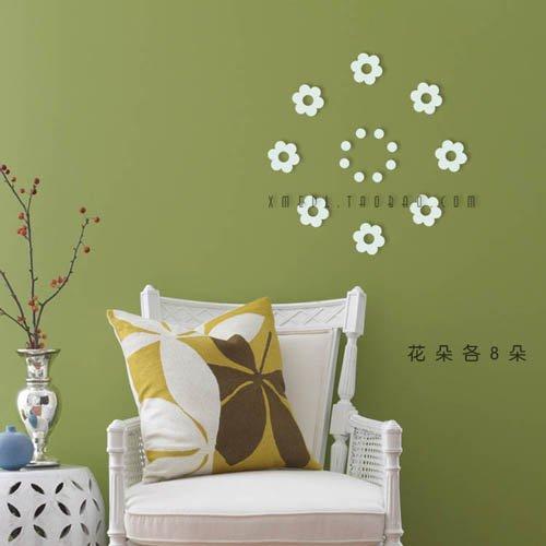 6套包邮创意圆环立体墙贴客厅背景卧室圆形墙饰壁饰浮雕装饰木质