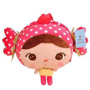 儿童礼物 生日礼物 可爱 超可爱吉宝娃娃小书包 38x27厘米 (粉糖果款)