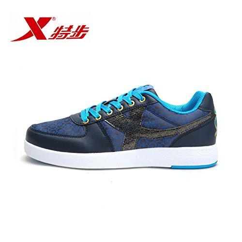 XTEP 特步 时尚板鞋 情侣款 男款 988319310959