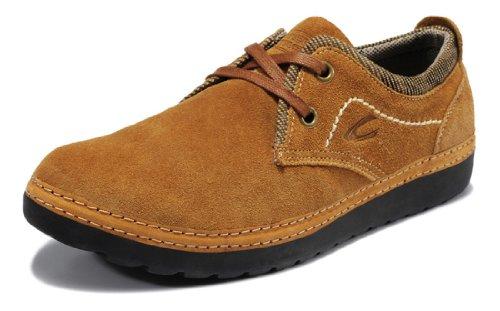 Camel Active 骆驼动感 新款四季男鞋 男士真皮运动休闲鞋 反绒皮低帮鞋 潮流系带单鞋板鞋