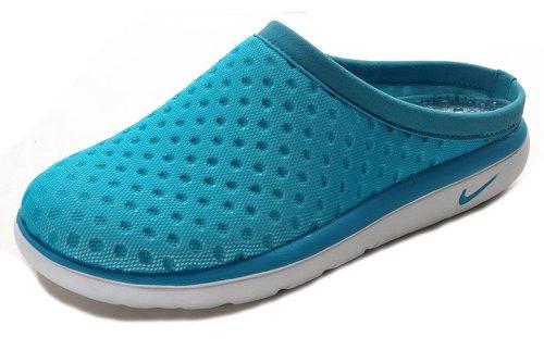 Nike 耐克 夏季新款透气拖鞋男女凉鞋 鸟巢第二代休闲运动凉拖鞋 海鸥鞋城 水月白