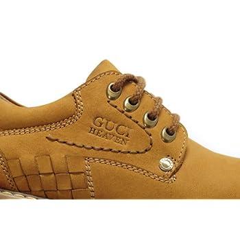 男士反绒牛皮休闲皮鞋