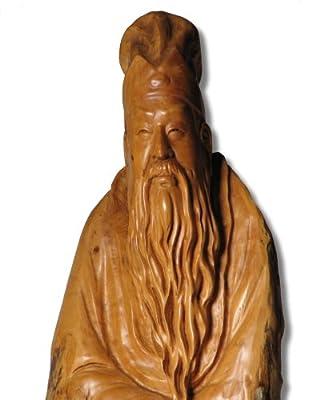 黄杨木雕诗人苏东坡像