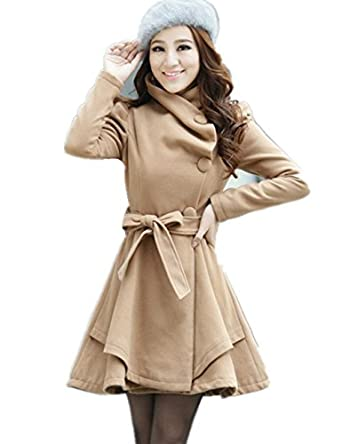 古仕卡特 2014新款韩版女式风衣秋装新款图片