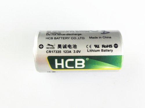 回至 原装 昊诚hcb cr17335 123a 3v锂电池 一次性锂电池图片