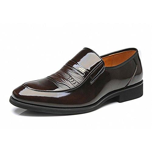 FGN 富贵鸟 专柜商务休闲男士皮鞋 正装鞋真皮头层皮男式英伦潮流低帮男款B7503