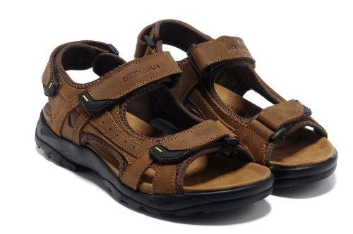 梵格鸟 夏季透气休闲运动鞋 登山凉鞋 商务皮凉鞋 涉水溯溪鞋 户外徒步时装凉鞋 沙滩鞋 英伦复古男鞋