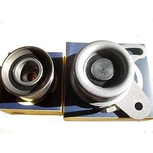 索纳塔 伊兰特老款 发动机 正时 皮带涨紧轮2个一高清图片