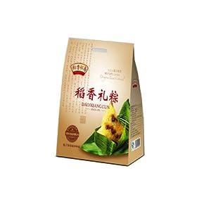 Z秒杀!稻香私房礼粽粽子礼盒840G,35元包邮