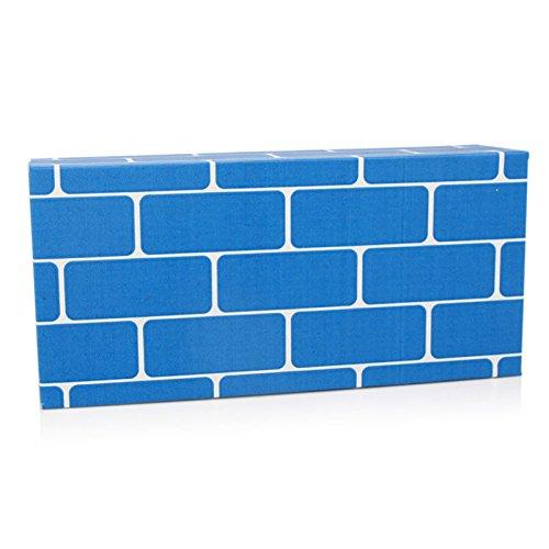 ef25630儿童仿真纸砖积木幼儿园中大班建构区游戏玩具diy手工纸盒