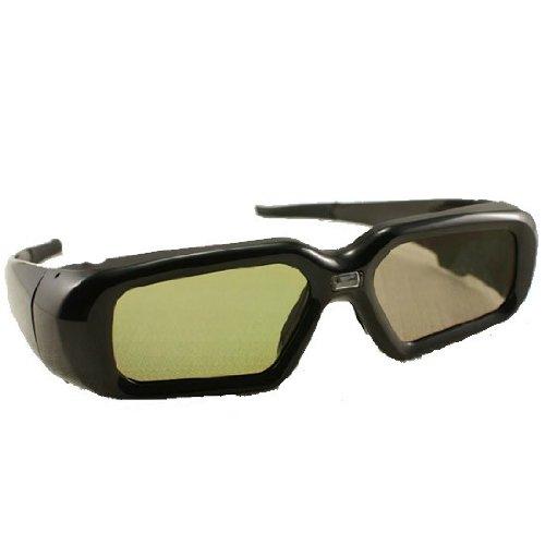 包邮 Comewol卡蒙 夏普3d眼镜快门式3D投影仪专用SHARP DLP LINK投影机用电子快门眼镜左右格式3D眼镜-图片