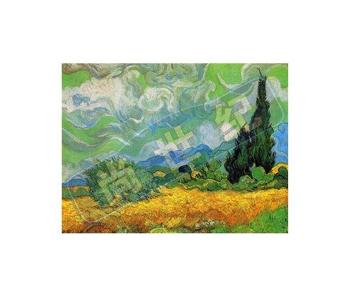 尚世纪 精准印花法国dmc十字绣正品专卖欧式十字绣风景油画 梵高之丝