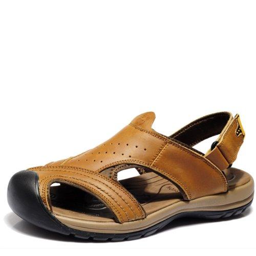 VanCamel西域骆驼 英伦时尚凉鞋 沙滩鞋 清凉涉溪款 精选头层牛皮 夏季必备款 男凉鞋