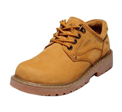 骆驼 CAMEL 休闲男鞋系列 精英风范 工装风潮 风靡世界 西部男靴 硬汉风格 时尚户外 男靴