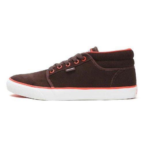 Converse 匡威 新款冬季中性中帮滑板鞋 135103C 棕