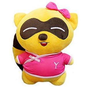 毛绒玩具yy熊歪歪公仔歪歪熊yy情侣熊熊生日