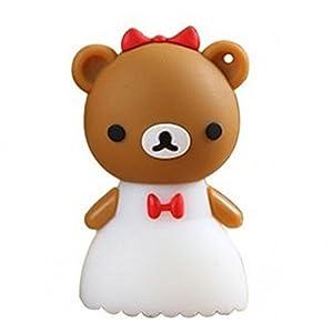 苹果做小熊动物造型