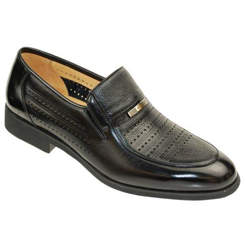 金利来/2013夏季新款 男式传统正装皮鞋*13332003AAD*黑色
