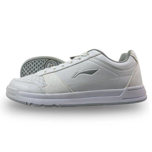 李宁正品男乒乓球运动系列文化鞋休闲跑步足球鞋APCF001-2耐磨透气