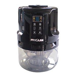 funglan 丰鸾 水洗空气净化器 KJG-178A 直黑色 245*245*350mm