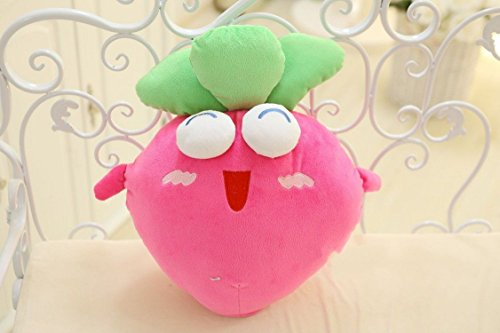 小洛克 保卫萝卜抱枕靠垫 游戏毛绒玩具 可爱布娃娃 公仔抱枕 创意