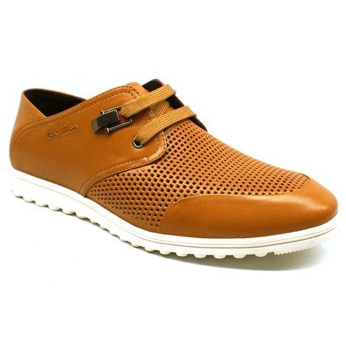 Goldlion 金利来 正品 免邮 牛皮 时尚休闲潮流 舒适透气镂空 凉鞋 洞洞鞋 系带英伦男鞋 男士凉鞋