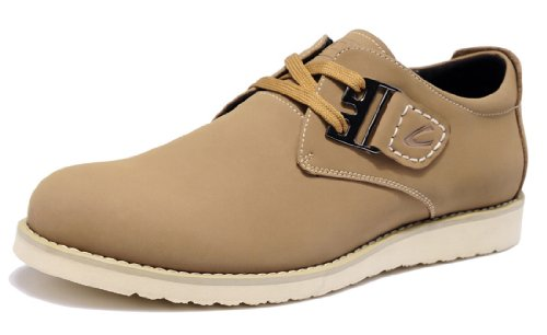 Camel Active 骆驼动感 新款四季男鞋 英伦风男士真皮休闲运动鞋 户外潮流轻便板鞋 圆头系带滑板鞋