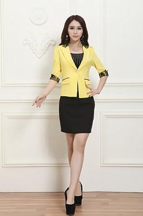 新款职业女装套装女士工作服免烫正装韩版图片