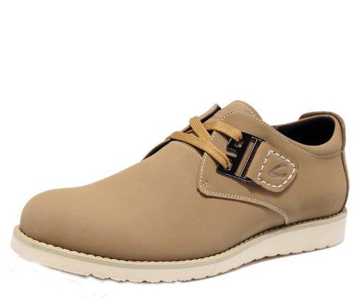 Camel 骆驼动感 型男超酷奢华品质工装鞋 英伦简约款潮鞋板鞋 真皮舒适潮流男鞋 经典高端休闲鞋 流行皮鞋