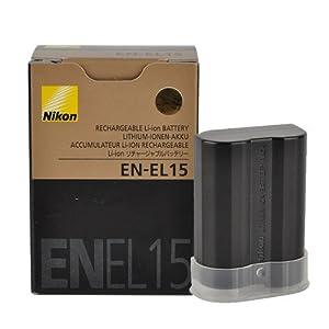 Nikon 尼康 EN-EL15 可充电锂电池 ¥287(D7000 D800)