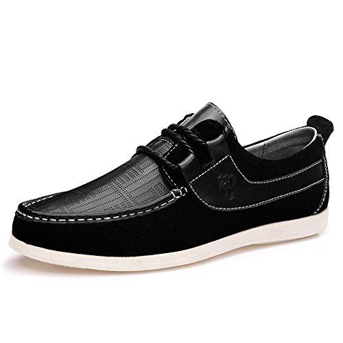 vancamel 西域骆驼 时尚男式 流行男鞋韩版日常休闲鞋 超透气反绒皮鞋 1092
