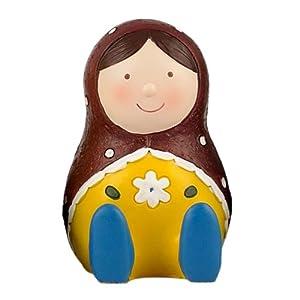 爱储蓄 树脂俄罗斯娃娃 创意可爱储蓄罐摆件 (石榴)