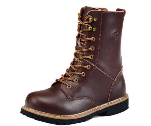 Guqi 古奇天伦 户外旅行靴 运动健身靴 西部男靴 休闲男鞋 潮流中筒靴子 硬汉工装靴 英伦靴