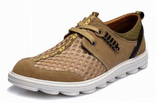 Guciheaven 古奇天伦 透气网布鞋系列 户外休闲鞋 毛毛虫底 低帮 男鞋 透气网布鞋 553
