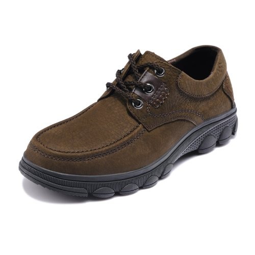 Fuguiniao 富贵鸟 英伦风商务休闲鞋 大头正装鞋 徒步鞋 真皮男鞋