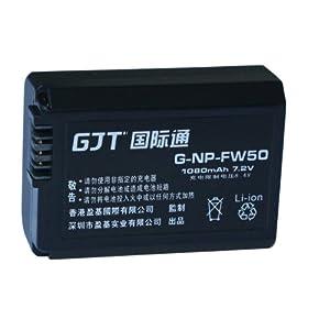 GJT國際通數碼電池NP-FW50【適 用 于】NEX-3C、NEX-5CK/S、NEX-5CK/B、SLT-A33(α33)、SLT-A55(α55)、SLT-A33L、SLT-A33Y、SLT-A55L
